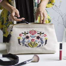 Load image into Gallery viewer, Large Frida Cosmetic Bag