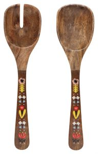 New Patterns!! Mango Wood Servers