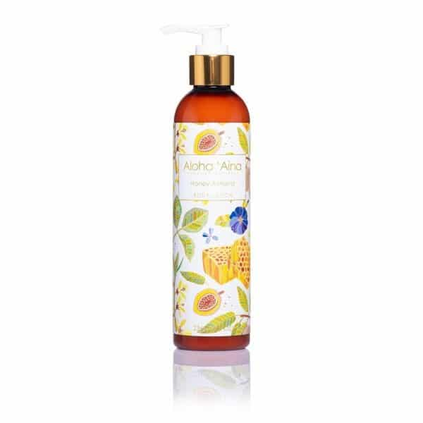 honey almond aromatherapy lotion