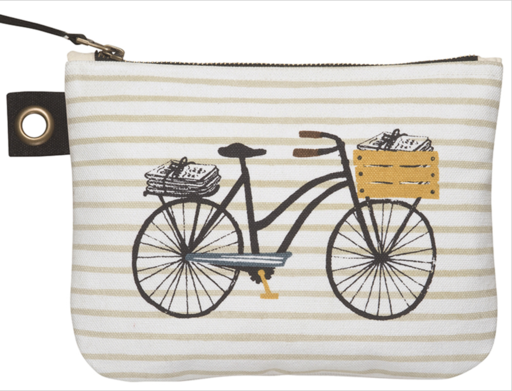 Bicicletta Zipper Pouch- large