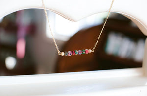 Kantha Bar Necklace