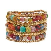 Load image into Gallery viewer, Kantha Layered Bracelet
