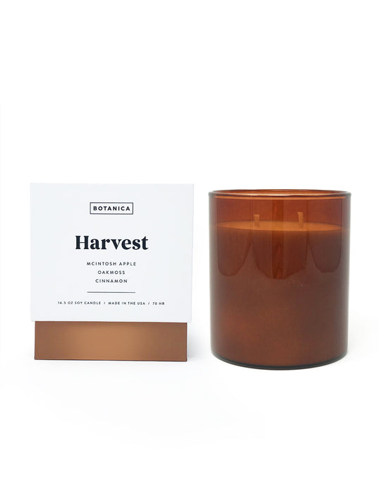 large Harvest Candle