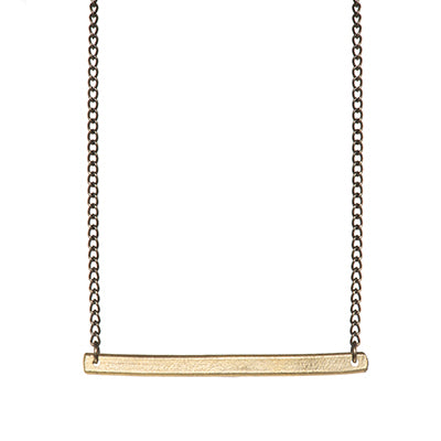 Ruthie Bar Necklace