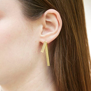 Triton Earrings in gold or silver