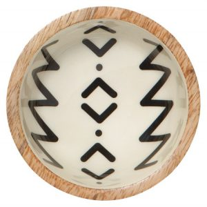 mango wood pinch bowl- assorted patterns