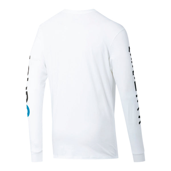 Puma x Cloud9 Orbit Long Sleeve T-shirt. White.