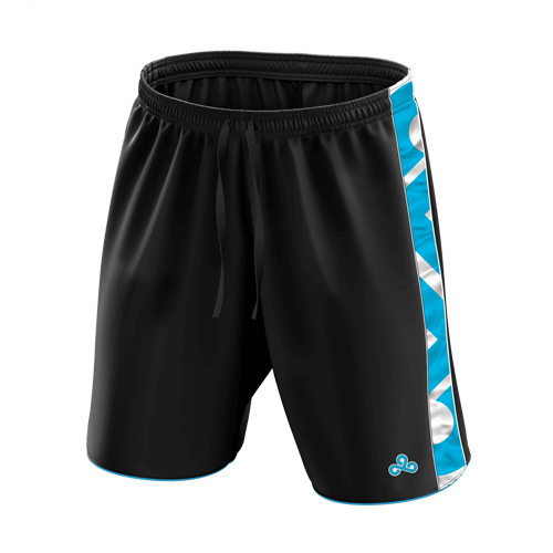Cloud9 Athletic Shorts - Black