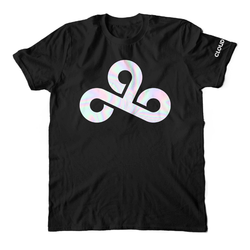 Cloud9 Reflector T-Shirt - Black