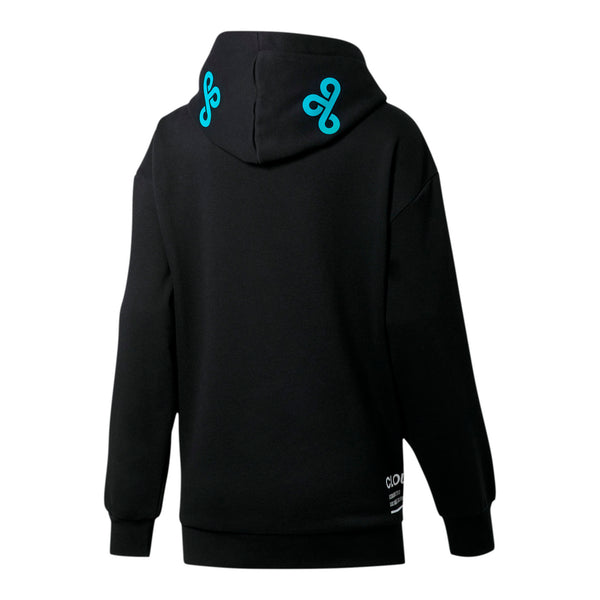 Puma x Cloud9 Simulation Women's Hood. Black/Blue.
