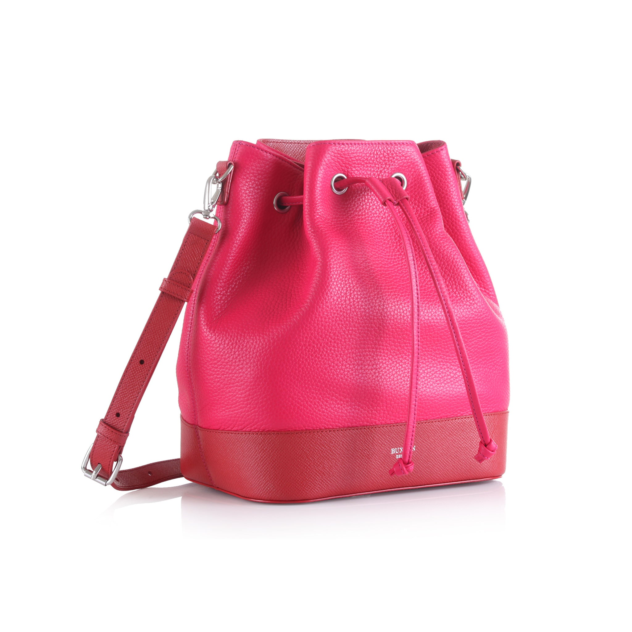 Two-Tone Slouchy Bucket Bag
