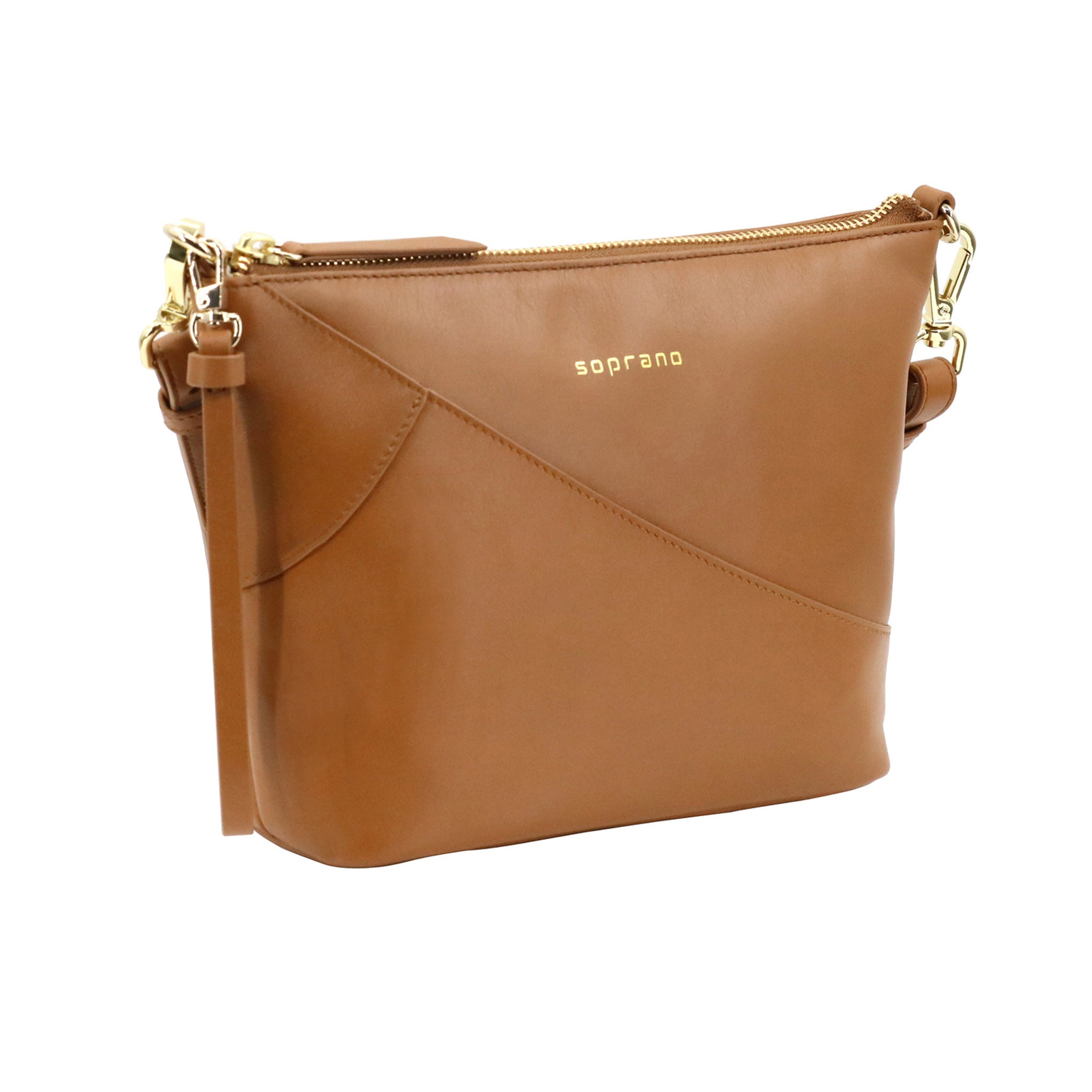 Multifunction Crossbody with Detachable Wrist Strap
