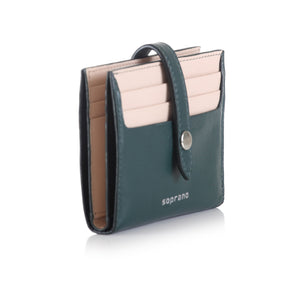 Colour Block Multi-slot Card holder