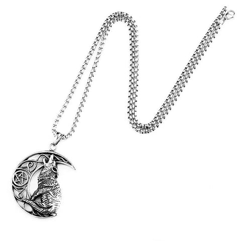 COLLIER LOUP LUNE LOUP HURLANT