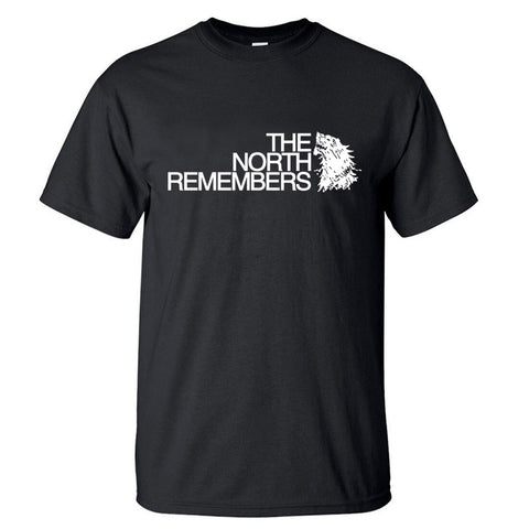 T-SHIRT LOUP THE NORTH REMEMBERS