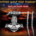 COLLIER LOUP VIKING WOLF