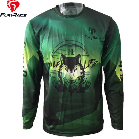 T-SHIRT LOUP THE WOLF LIFE