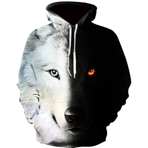 SWEAT LOUP - LOUP 3D