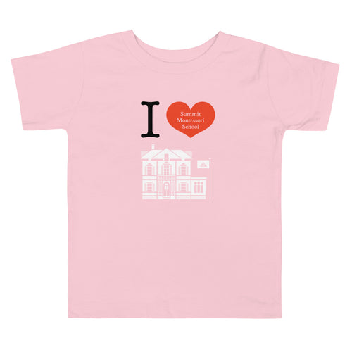 I Heart Summit Toddler Short Sleeve Tee