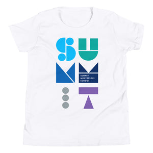 Stacked Shapes Kids T-Shirt