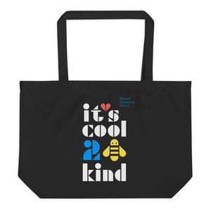 Cool 2 Bee Kind Large Organic Tote