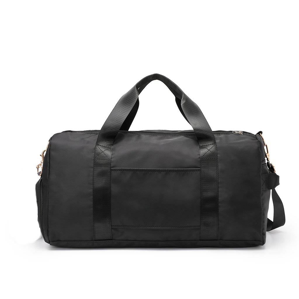 Oscar Classic Black Travel Bag