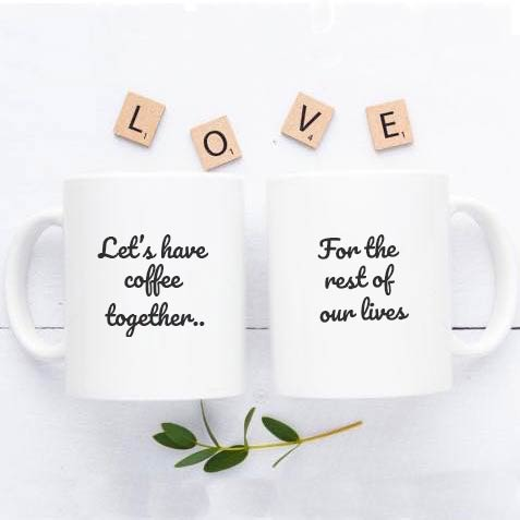 Coffee Lovers Couple Mug
