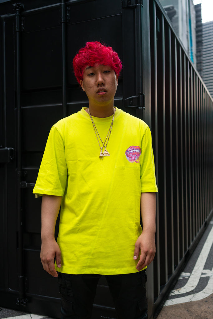 Ted Park Drippin short sleeve T-Shirt (Yellow)