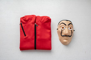 La Casa De Papel Cosplay Party Halloween Mask