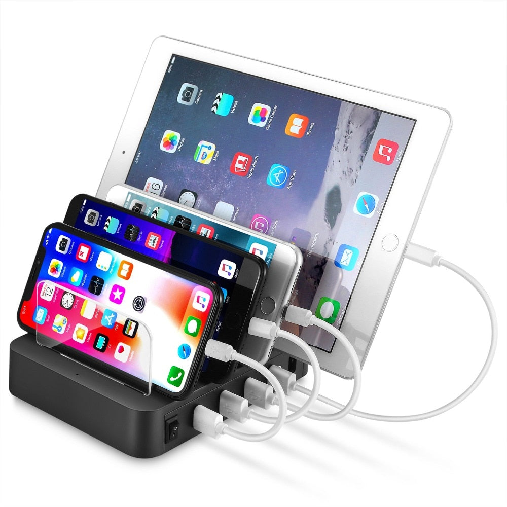 Desktop Quick Charger  4 Ports