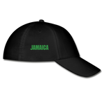 Good Vibes Jamaica Fitted Baseball cap - black