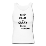 Keep Calm and Carry RUM!  Jamaican Rum of Course.... - white