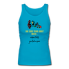 One Good Thing Ladies Back Tank - turquoise