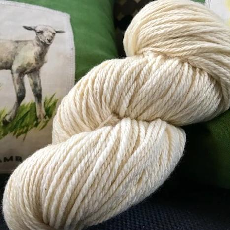 Frosty Yarn- 100% Lamb Wool