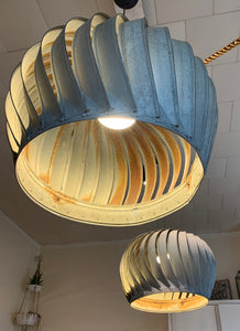 Vintage Pendant Turbine Light