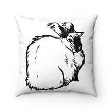 Load image into Gallery viewer, Boom-Faux Suede Square Pillow