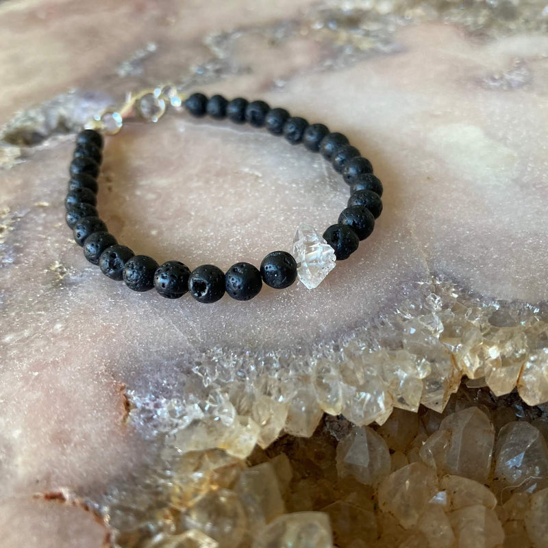 April birthstone bracelet for boys healing