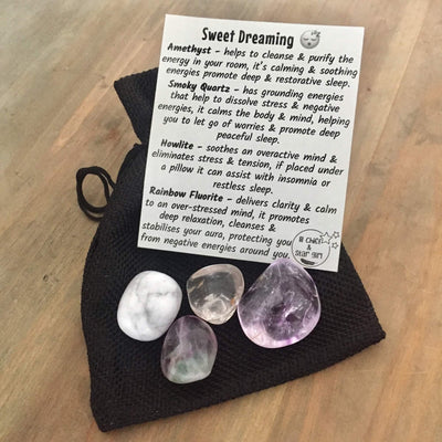 Sweet Dreaming Crystal Pouch