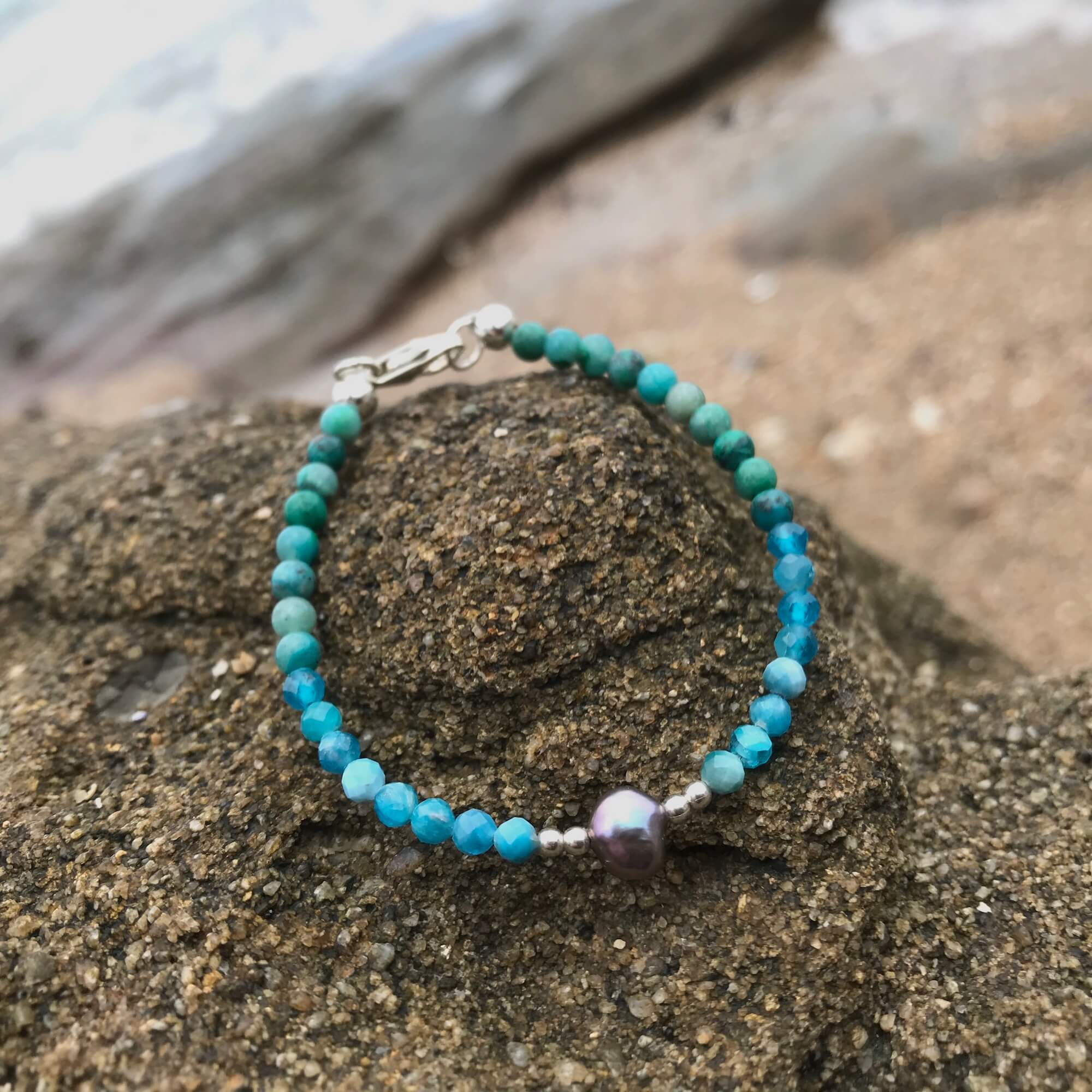 Mermaid Dreaming crystal Bracelet