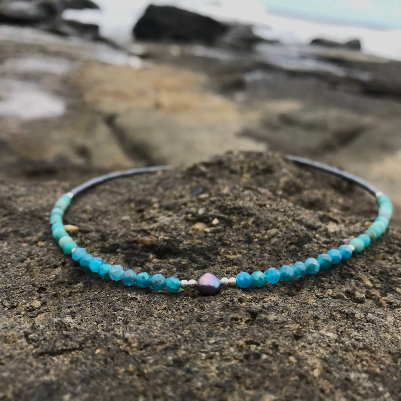Mermaid Dreaming crystal necklace for kids
