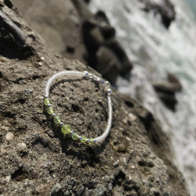Peridot Bracelet for girls