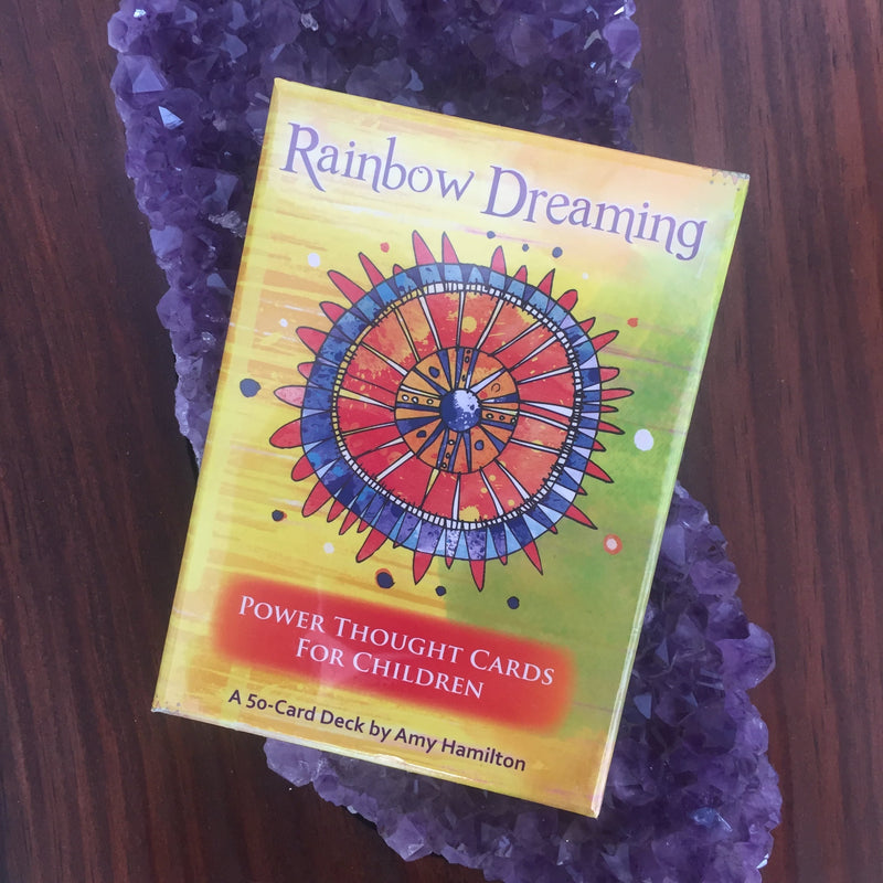 Rainbow Dreaming power thought card deck for children