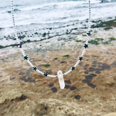 Star Girl healing Necklace for kids