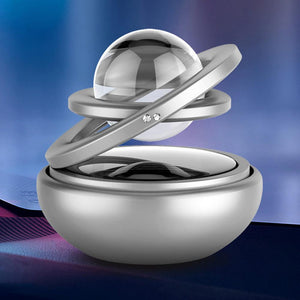 Double Ring Aromatherapy Diffuser with Moving Ball