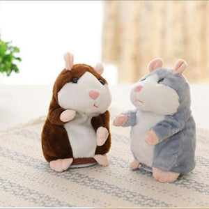 forulife | Cute Repeating Talking Plush Hamster | gift | kid