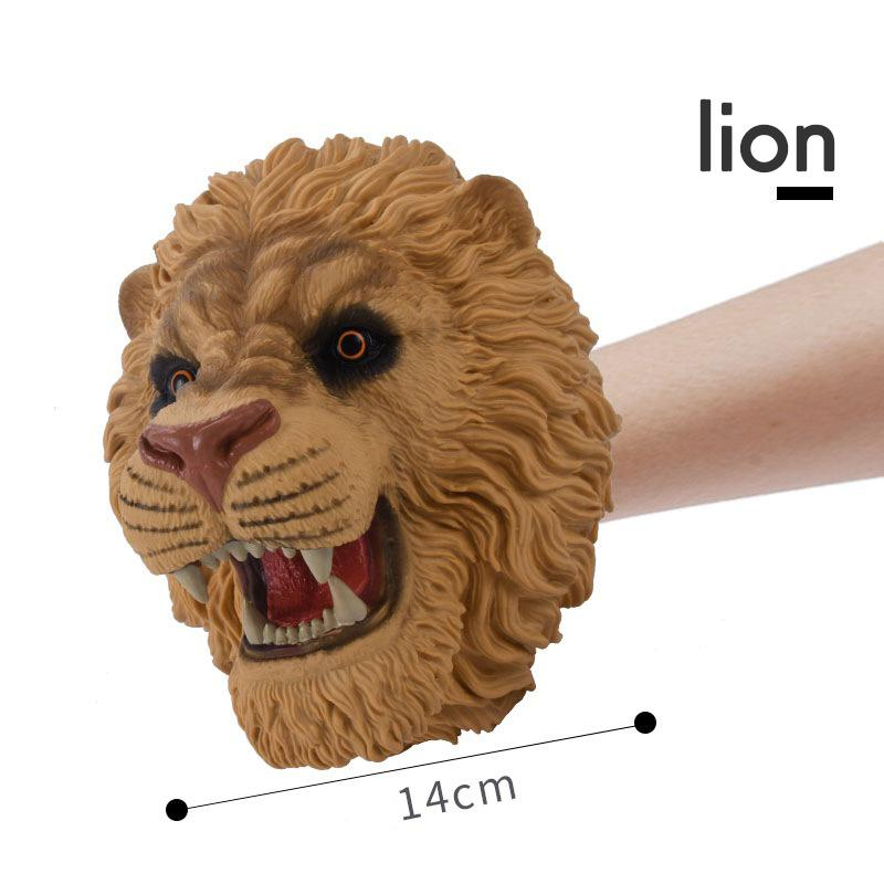 【Battle glove toy】Simulation animal hand puppet