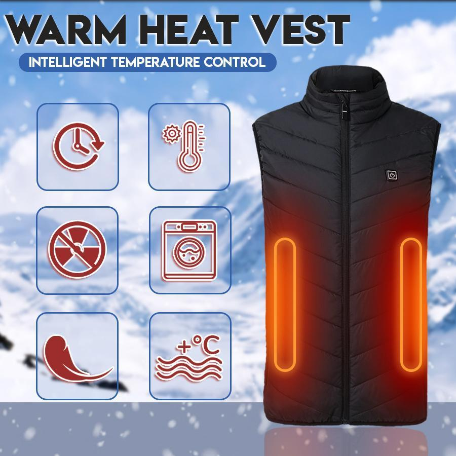 Instant Warmth Heating Vest🔥Last day promotion !