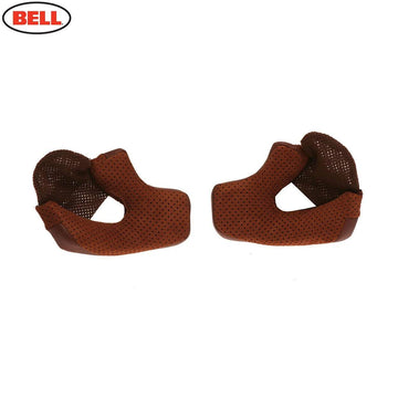 Bell Bullitt Cheek Pads in Brown