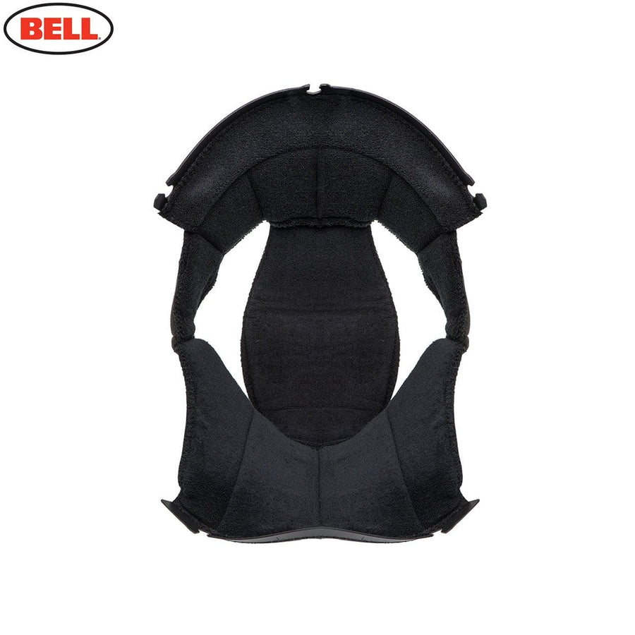 Bell Moto 3 Top Pad Cloth in Black