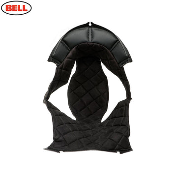 Bell Moto 3 Top Pad Leather in Black